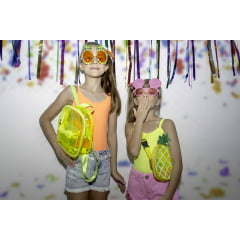 Oculos abacaxi carnaval