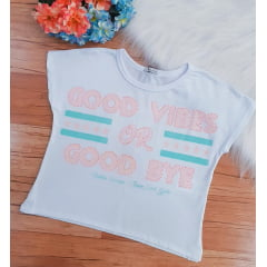 Blusa cropped Teen