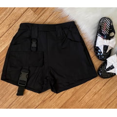 Short cargo tactel infantil teen